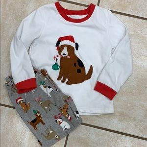 Carter's Christmas pjs